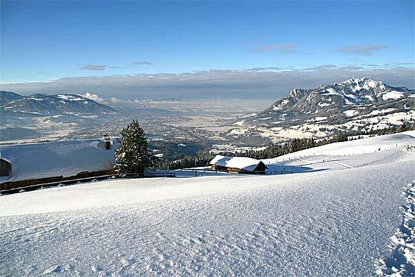 schneeschuhwandern bei sonthofen bis zum sonthofener hof und weiter On sonthofen übernachtung